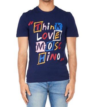Love moschino Love Moschino : Slim st think love Blue-
