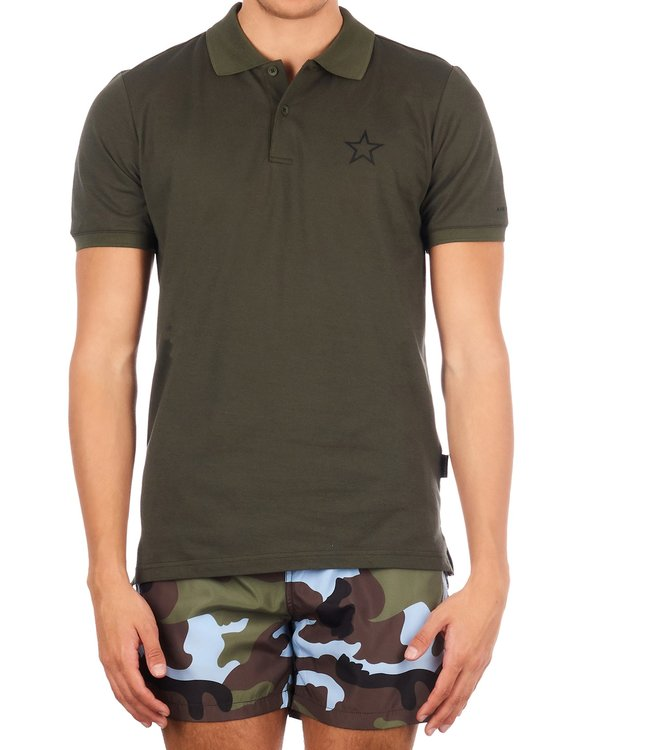 Airforce Airforce : Polo outline star Olive