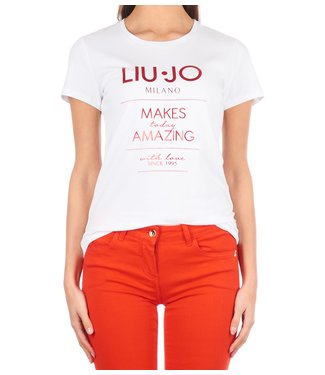 LiuJo LiuJo : T-shirt makes amazing wit-F19074