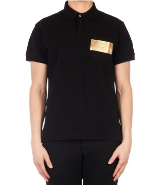 Versace Jeans couture Versace : jeans : Polo logo foil-Black