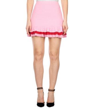 Reinders Reinders : Valerie ruffle skirt Pink