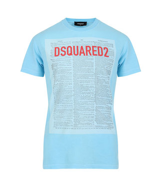 Dsquared2 Dsquared2 : T-shirt dictionary Light Blue