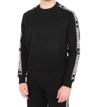 Dsquared2 Dsquared2 : Sweater tape logo Black
