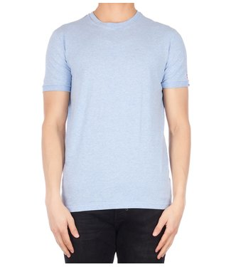 Dsquared2 Dsquared2 : T-shirt round neck D2 L.Blu