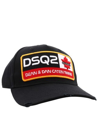 Dsquared2 Dsquared2 : Cap dsq2 can.twins black