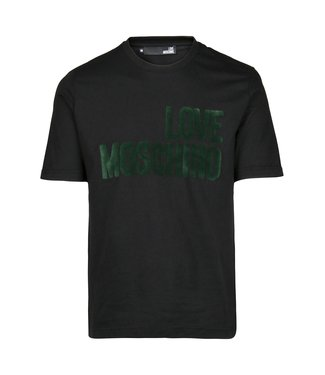 Love moschino Love Moschino : Logo verde gres Black