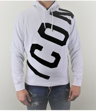 Dsquared2 Dsquared2 : Hoodie Icon big White