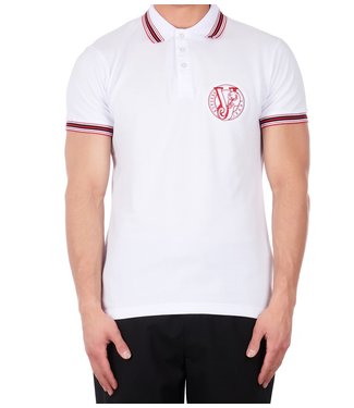 Versace Jeans couture Versace jeans : Polo mc round slim White