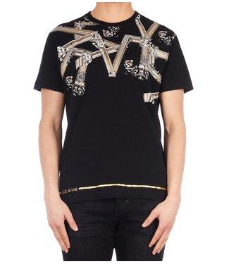 Versace Jeans couture Versace jeans : T-shirt print reg Black