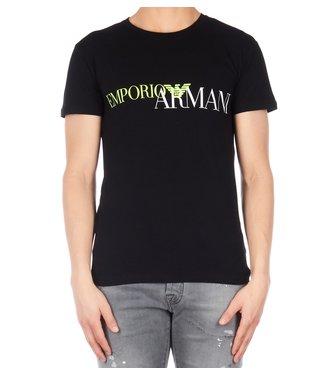 Empori armani Emporio armani : T-Shirts Black