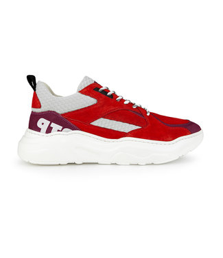 Off the Pitch OTP : Sneaker cross runner Red-7150191130
