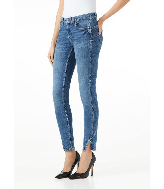 LiuJo LiuJo : Jeans strass reg.waist Blue