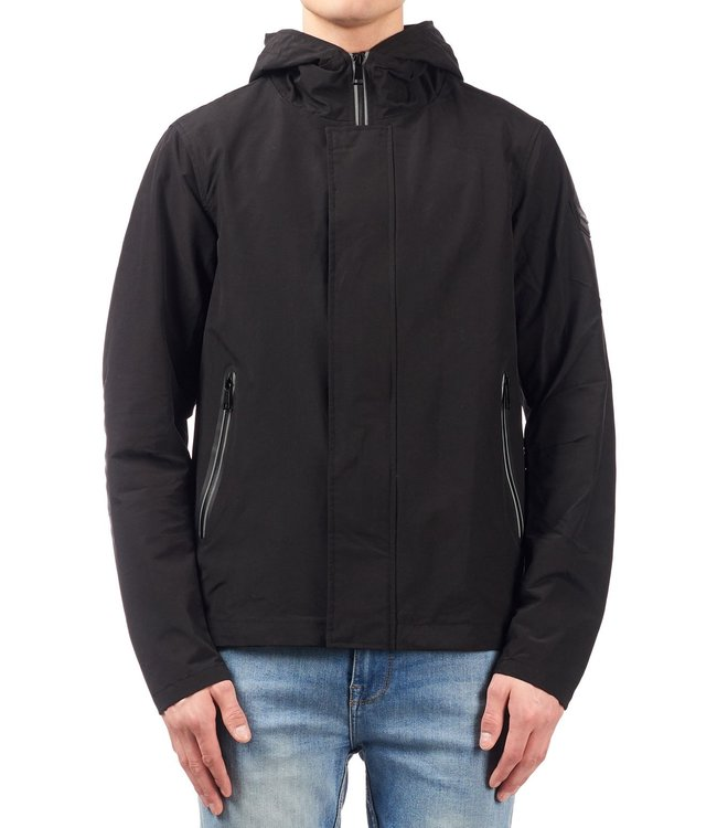 Airforce Airforce : Casual jacket taped zip Black