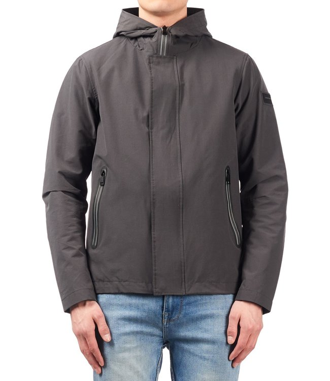 Airforce Airforce : Casual jacket taped zip Grey