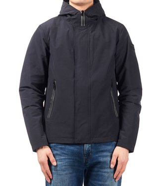 Airforce Airforce : Casual jacket taped zip Navy