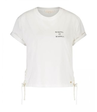 Joshv Joshv :T-shirt Jeena White-JV 1803 0001