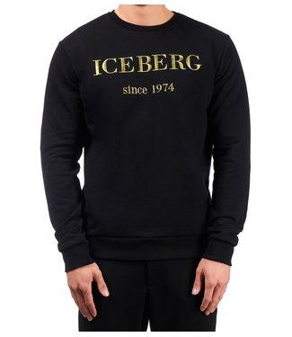 ICEBERG Iceberg : Logo Sweater Black