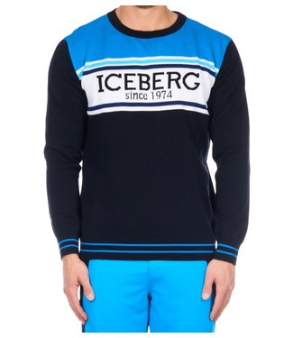 ICEBERG Iceberg : Round neck knitted