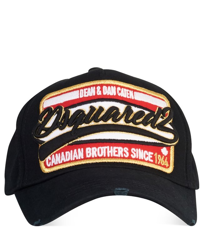 Dsquared2 Dsquared2 : Cap dsq2 can.brothers Black