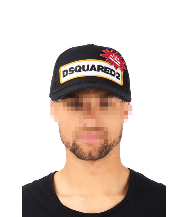 Dsquared2 Dsquared2 : Cap dsq2 hate in love Black