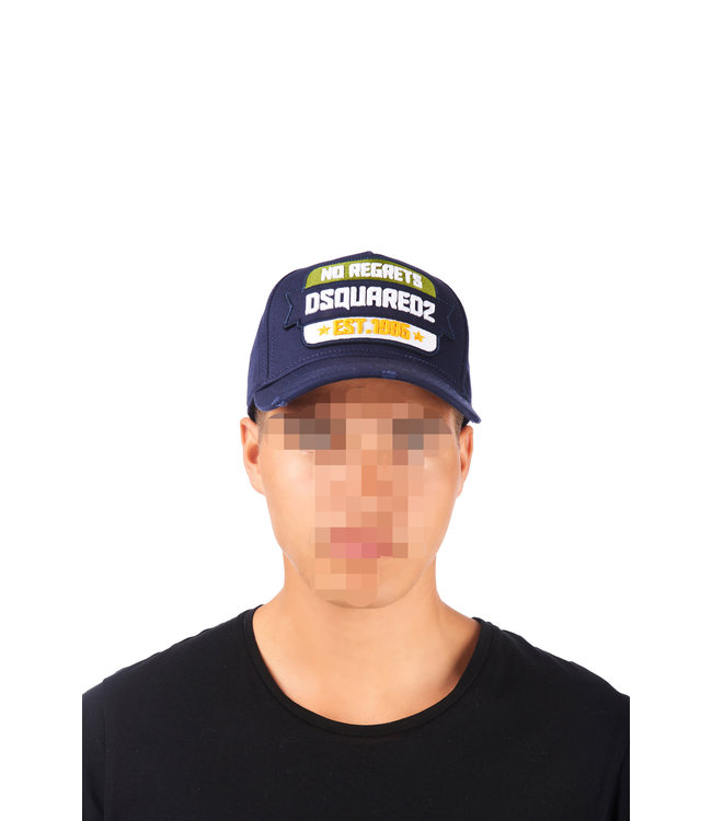 Dsquared2 Dsquared2 : Cap dsq2 no regrets Blue
