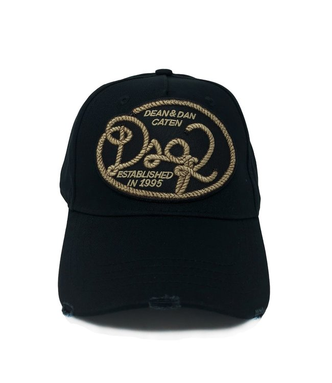 Dsquared2 Dsquared2 : Cap dsq2 rope Black