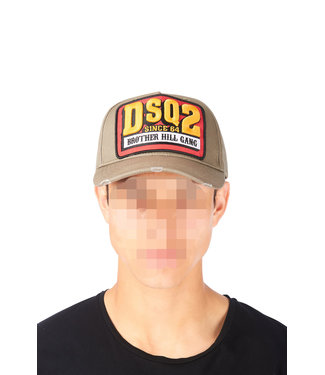 Dsquared2 Dsquared2 : Cap dsq2 Army green