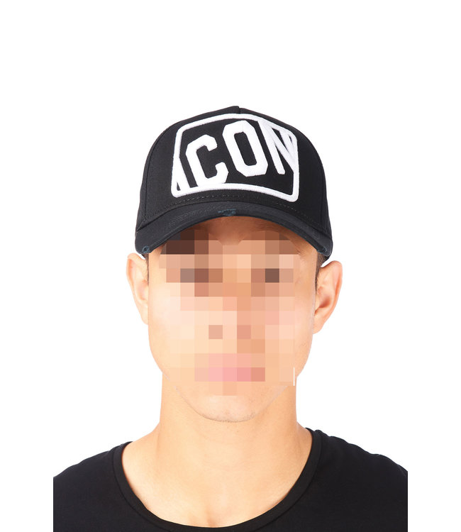 Dsquared2 Dsquared2 : Cap dsq2 Icon Black/Wht