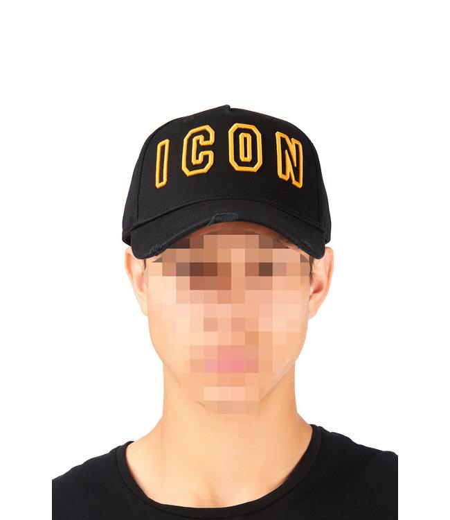 Dsquared2 Dsquared2 : Cap dsq2 Icon Black/Yel