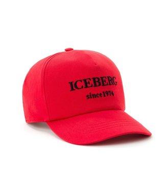 ICEBERG ICEBERG : Logo cap Red