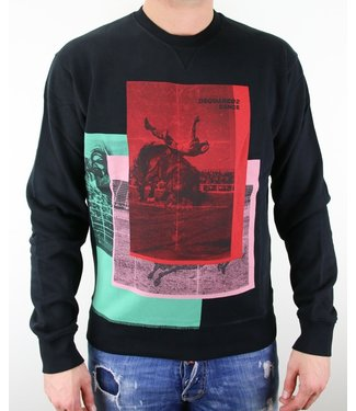 Dsquared2 Dsquared2 : Rodeo Sweater Black