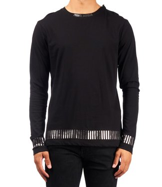 Frankie Morello Frankie Morello :Long sleeve Peers Black