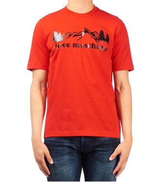 Love moschino Love Moschino : T-shirt Mountain Red