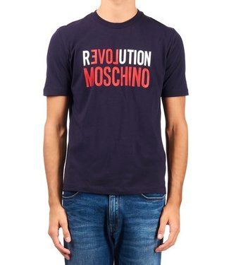 Love moschino Love Moschino :T-shirt Revolution Navy