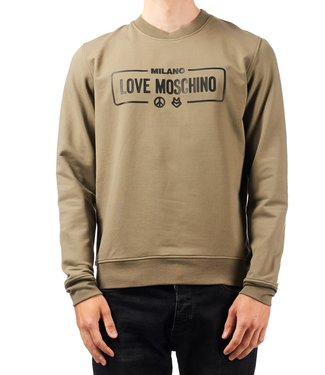 Love moschino Love Moschino : Sweater logo Green
