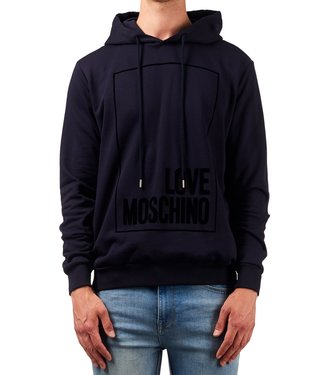 Love moschino Love Moschino : Hoodie Box logo Navy