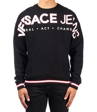 Versace Jeans couture Versace Jeans : Sweater Branding Black