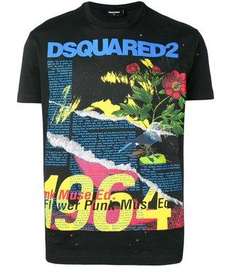 Dsquared2 Dsquared2 : T-shirt graphic print Black