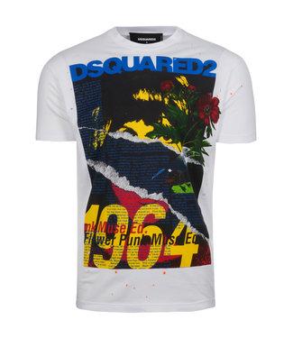 Dsquared2 Dsquared2 : T-shirt graphic print White