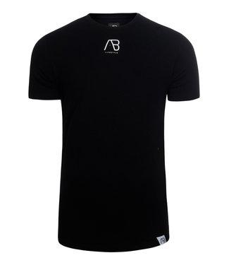 AB Lifstyle AB lifestyle : T-shirt script tee Black