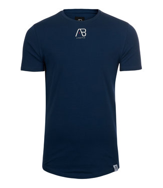 AB Lifstyle AB lifestyle : T-shirt script tee Navy