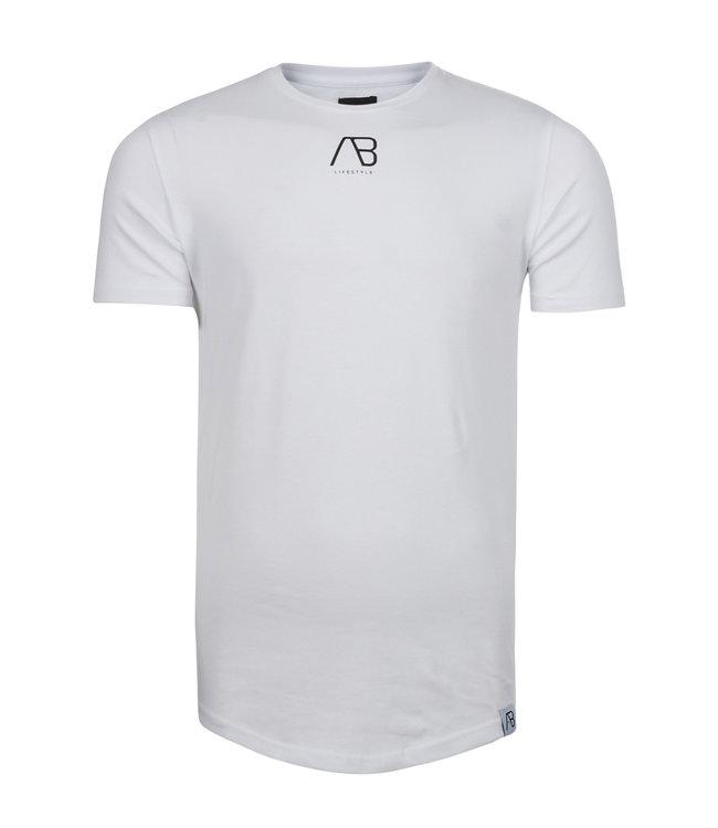 AB Lifstyle AB lifestyle : T-shirt script tee White