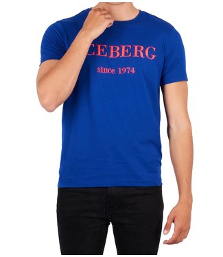 ICEBERG Iceberg : T-shirt Embroidered logo Blue