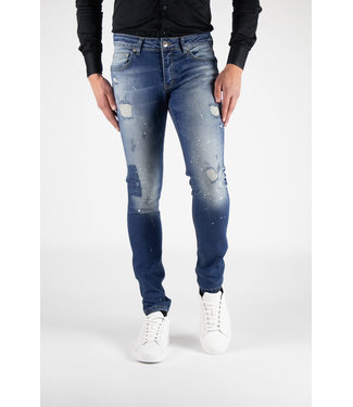 Richesse Richesse :  Jeans Vichy  Blue