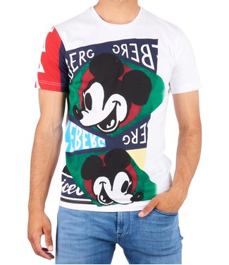 ICEBERG Iceberg : T-shirt Mickey print White