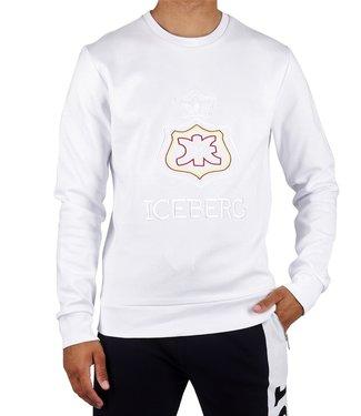 ICEBERG Iceberg : Sweater crown logo White