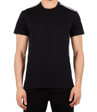 Versace Jeans couture Versace jeans couture : T-shirt tape logo Black