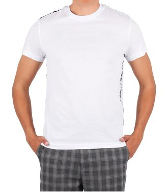Versace Jeans couture Versace jeans couture : T-shirt tape logo White