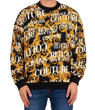 Versace Jeans couture Versace jeans Couture : Sweater over print Black
