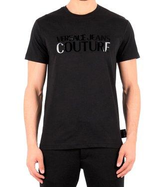 Versace Jeans couture Versace jeans Couture : T-shirt slim logo gloss Black